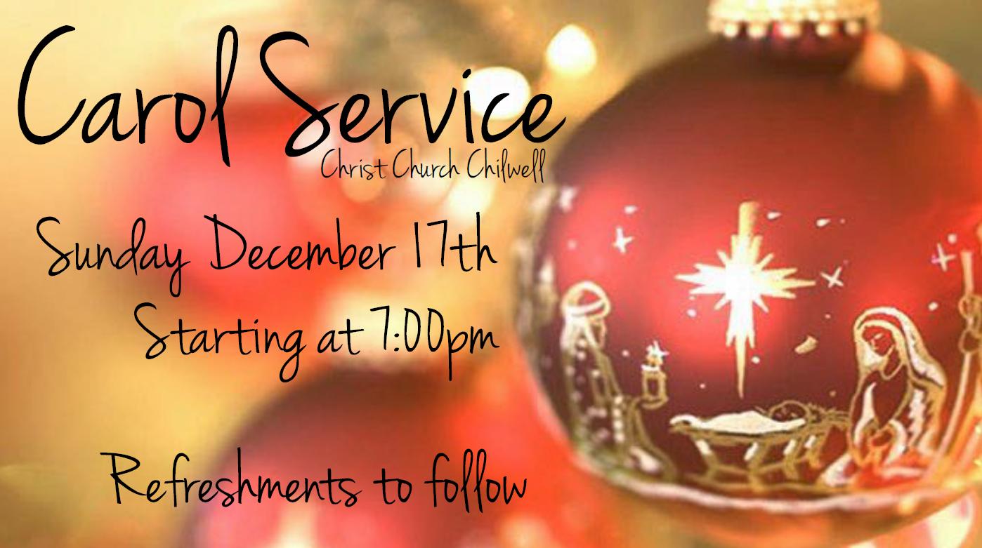 Traditional Carol Service