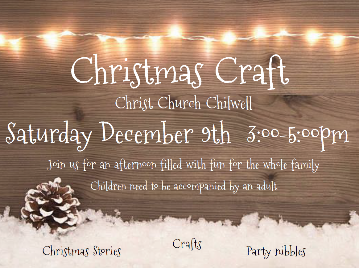 Christmas Craft @ Christ Church