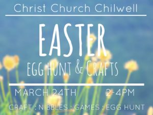 Easter Egg Hunt and Craft Afternoon @ Christ Church Chilwell