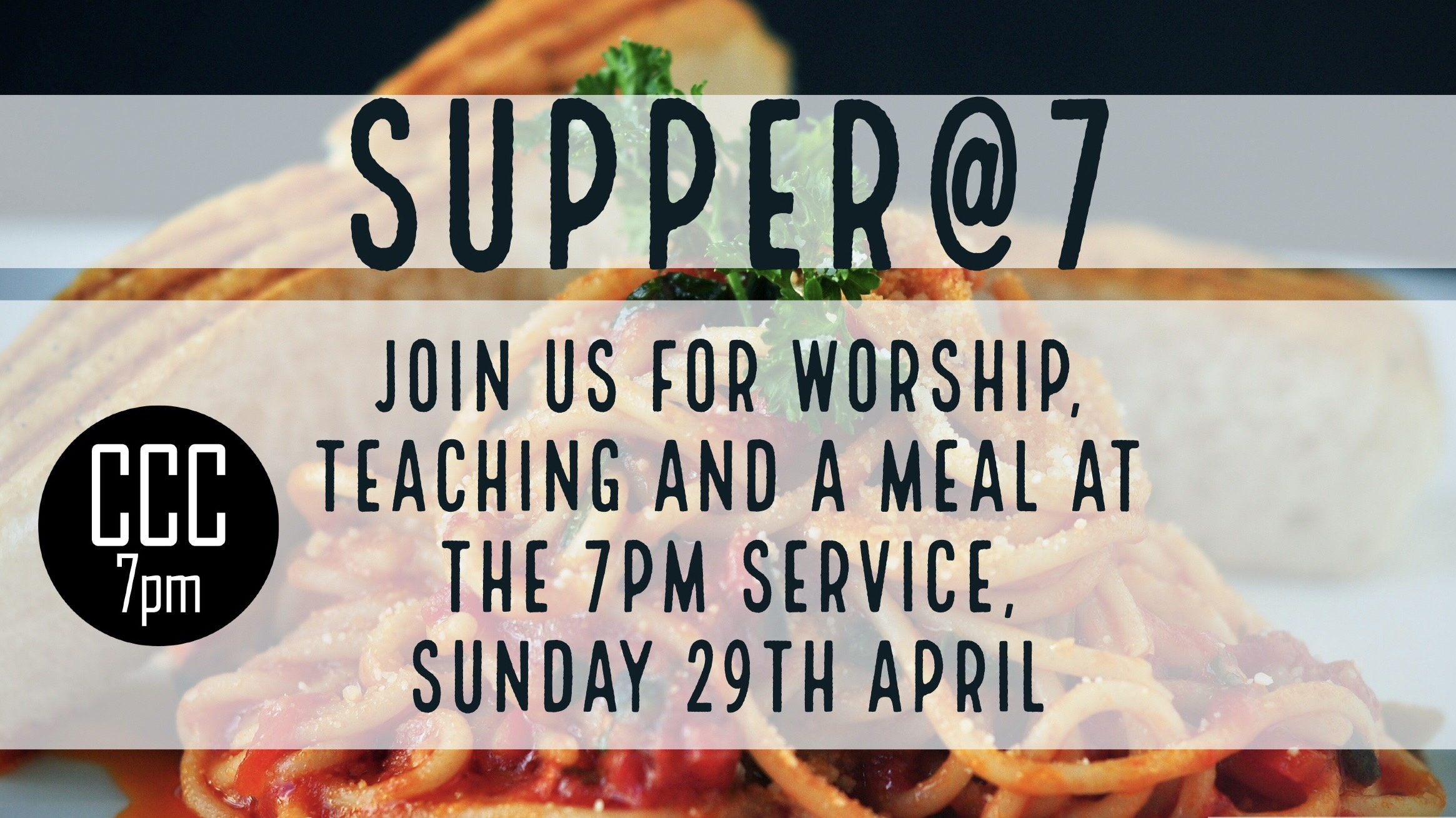 Christ Church Chilwell Supper At 7