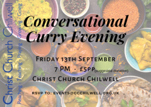 Conversational Curry @ Christ Churchc Chilwell
