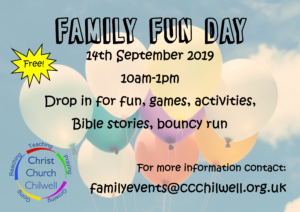 Family Fun Day @ Christ Church Chilwell